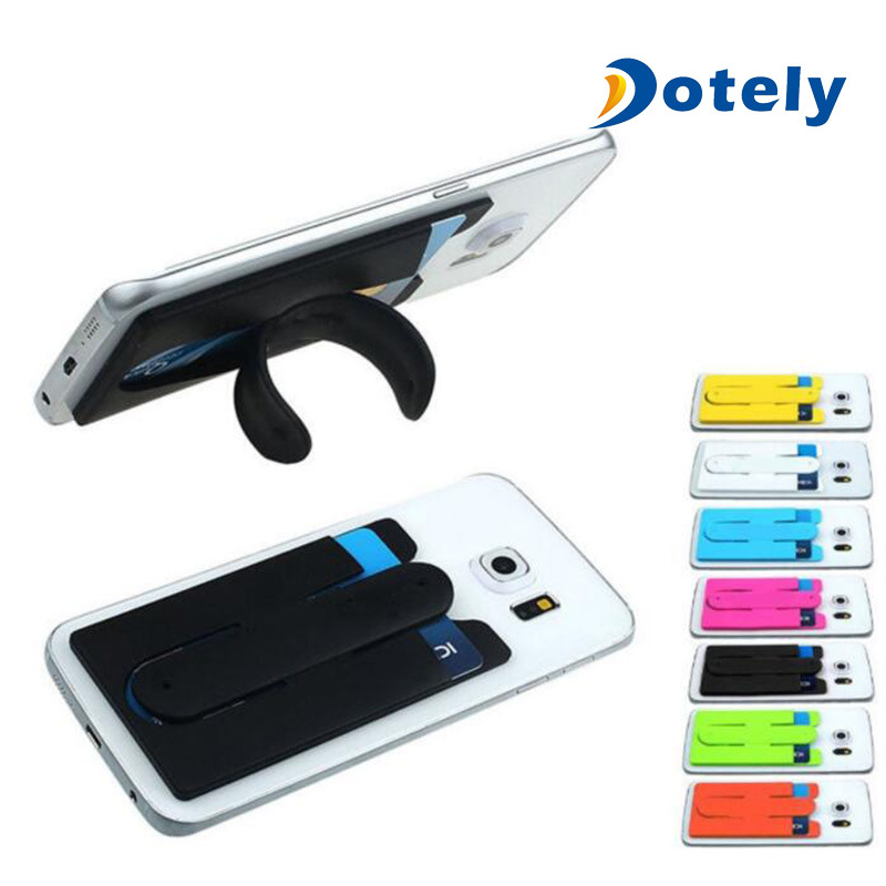 designer fashion 089a6 de393 [Hot Item] Smart Wallet Touch-C Silicone Cell Phone Credit Card Holder
