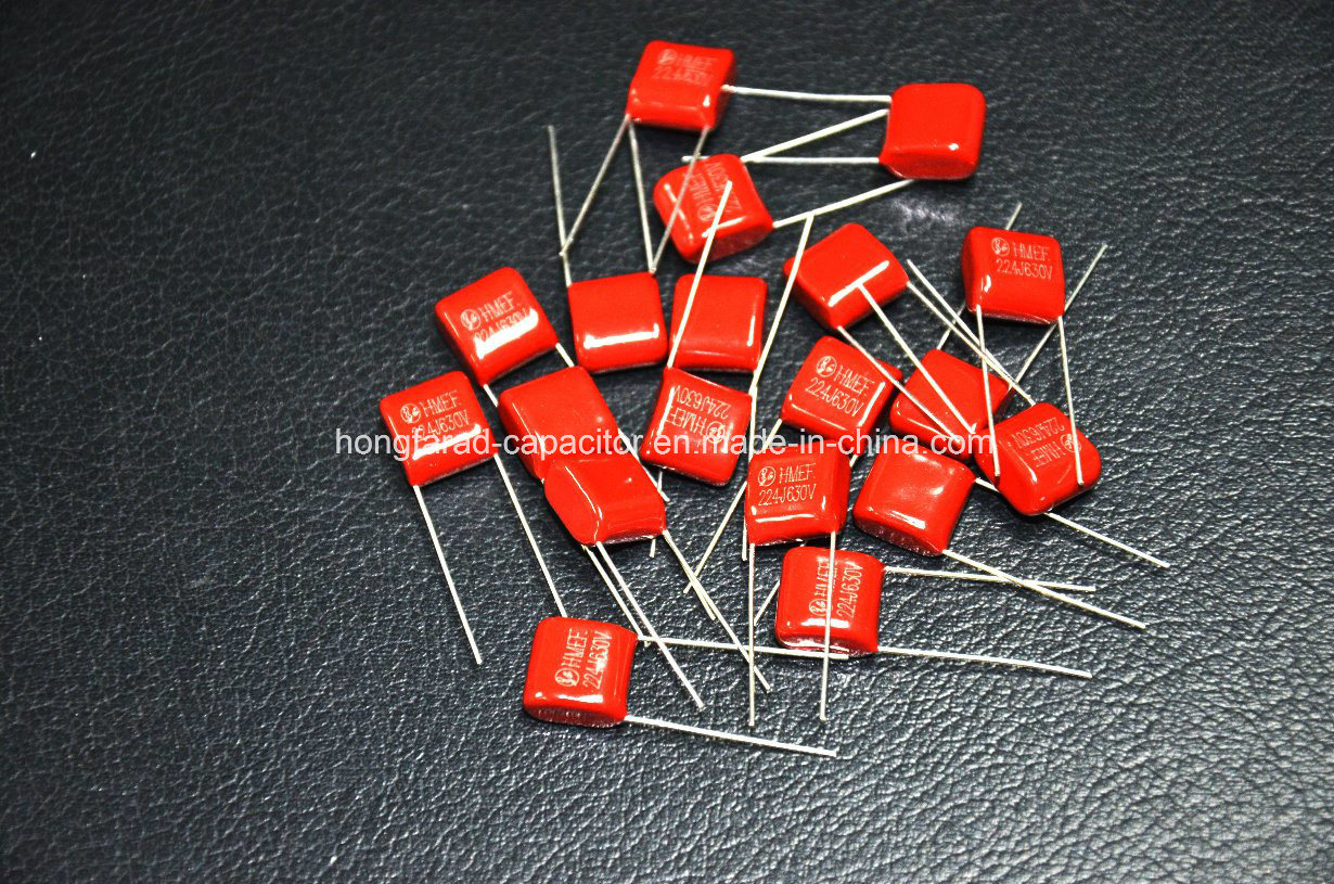 China Metallized Polyester Film Capacitor Cl21 For Led Circuit Lighting
