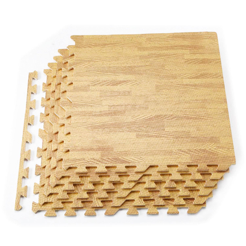 China Wood Grain Floor Mat 6 12 Tiles