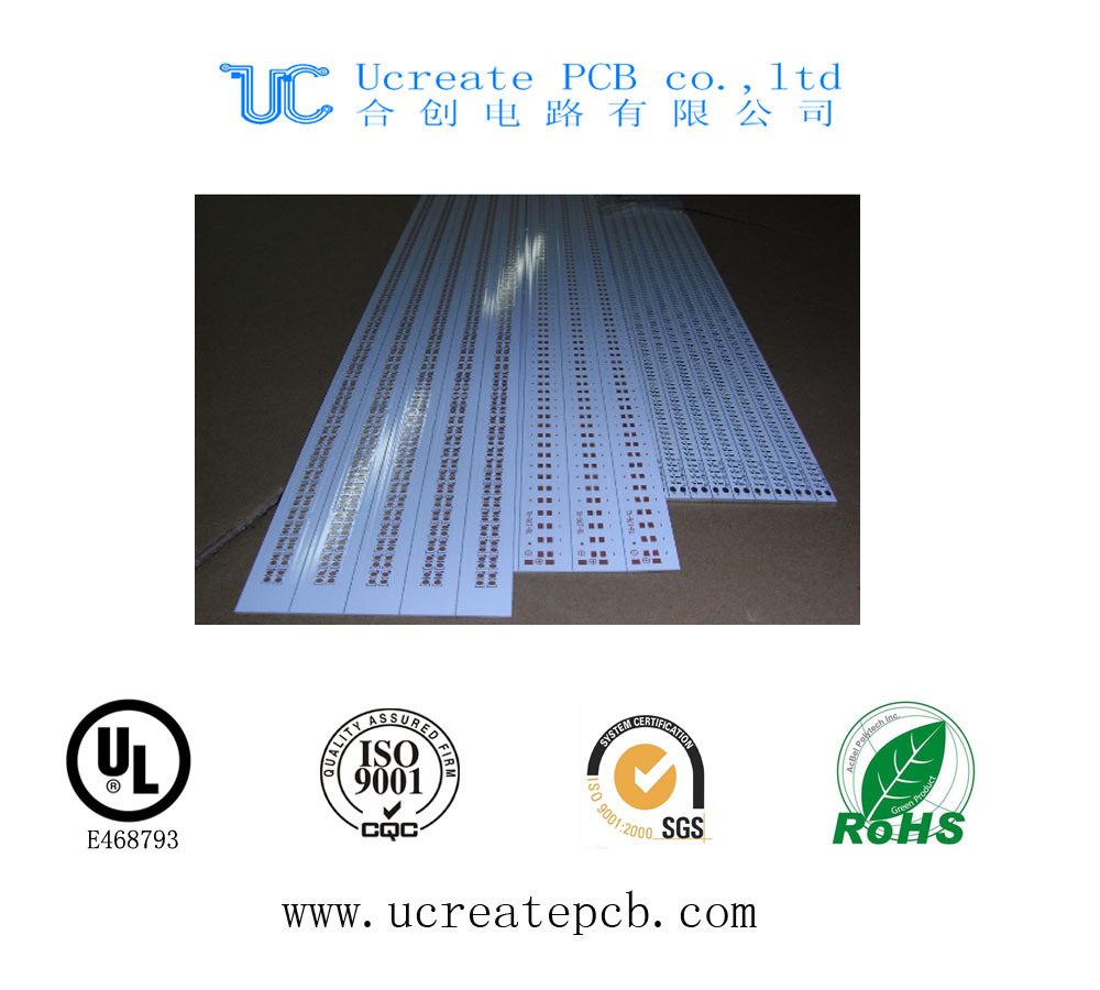 China Aluminum Led Pcb Smd Circuit Board Lead Freee Shenzhen Oem Electronic Printed Manufacturerpcb Hasl Manufacturer