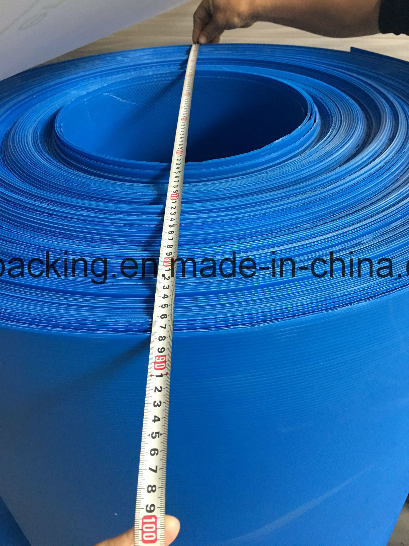 PP Corruagted Rolls Measure The Quantity for The Container (2mm 3mm 4mm White Blue Yellow)