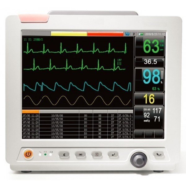 12.1 Inch Multi-Parameter Patient Monitor Ce Approved (FORLONG-8000)