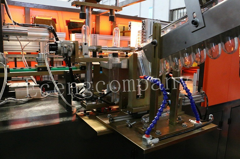 6 Cavities Pet Plastic Bottles Blow Molding Machine