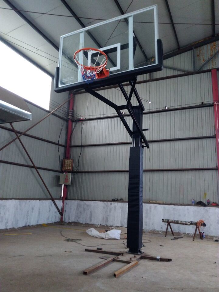 Wholesale Height Adjustable  in-Ground Residential Basketball Hoop  for Driveway pictures & photos