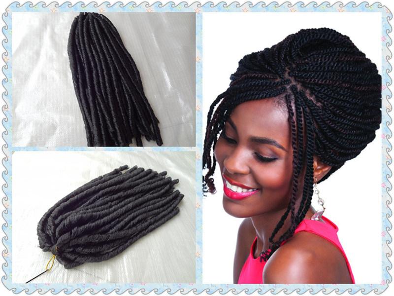 China 100super Kanekalon Fiber Marley Braid Hair Extensions Bhf