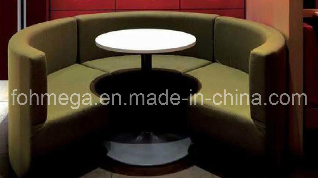 Bar Restaurant Round Sectional Sofa