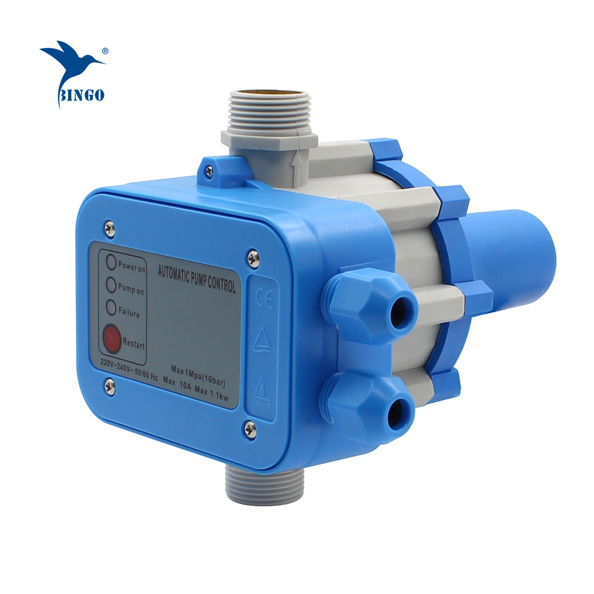 Automatic Electronic Switch Control Water Pump Pressure Controller 220V 10Bar