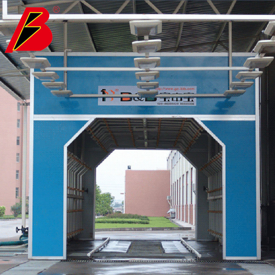 Water Shower Room 2020 New Arrial Leakage Test Booth for Car Inspection Line