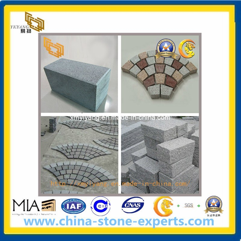 G654, G684 Basalt, Granite Cube, Kerb, Cobble, Paving Stone pictures & photos