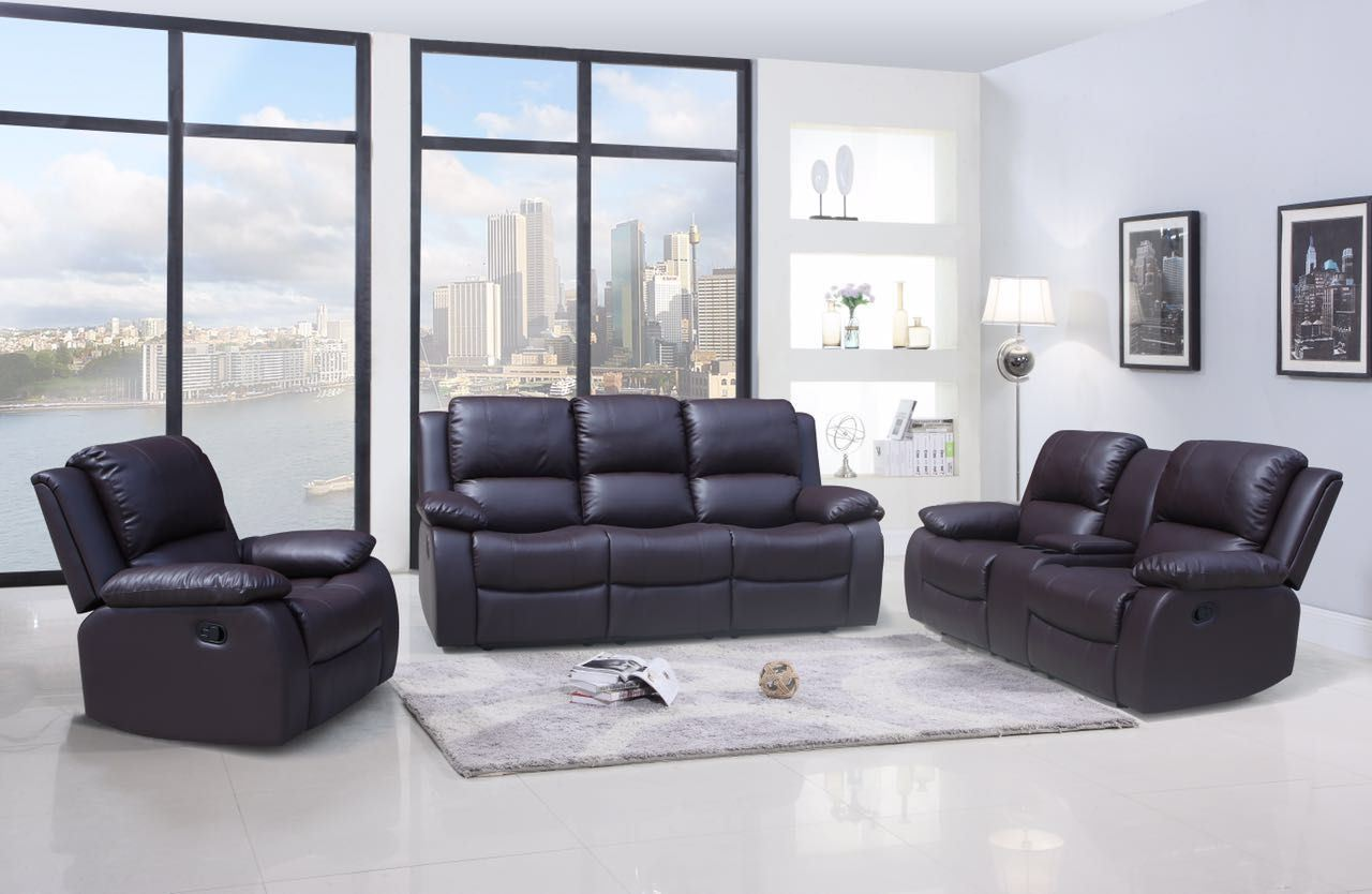 - China Living Room Furniture Recliner Leather Sofa - China Sofa