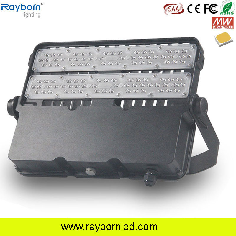 China 100W LED Outdoor Flood Light Fixtures With 5 Years Warranty   China  LED Flood Lamp, LED Flood Luminaire