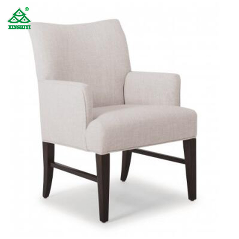 China Custom Made Furniture Upholstered Armchair For Hotel Furniture