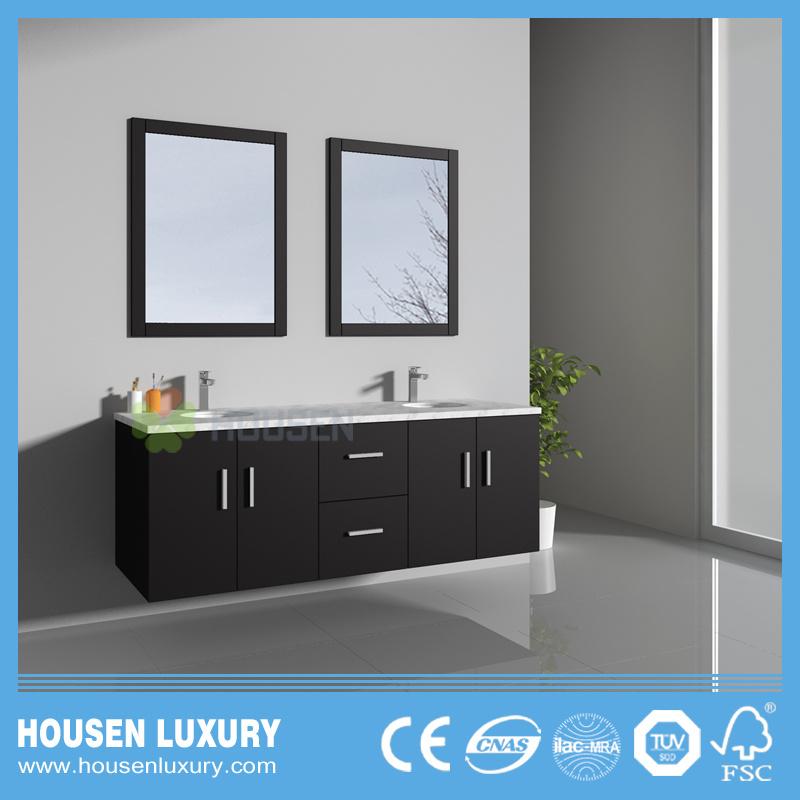 China New Modern Wall Mounted Paint Bathroom Vanity Hs T11015 1500 China Bathroom Vanity Sanitary Ware
