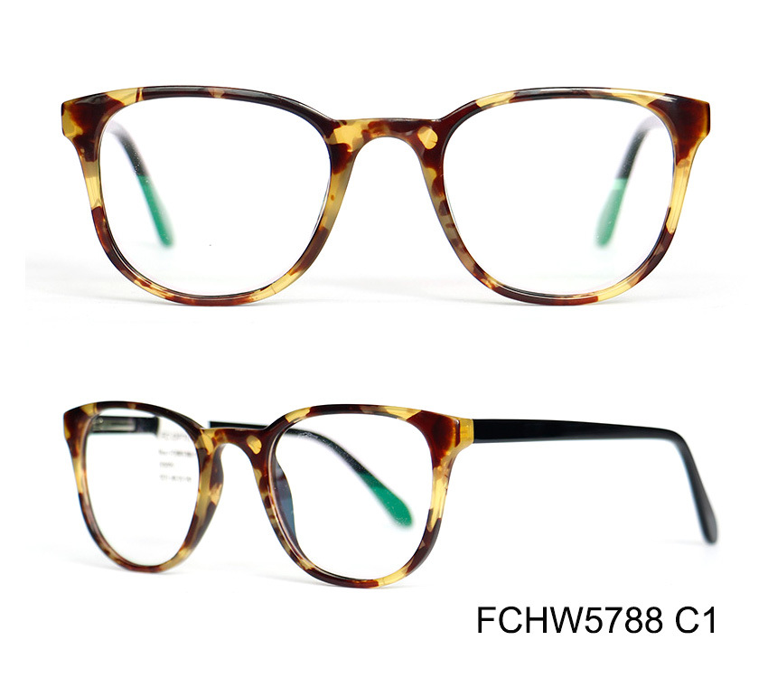 74e52665aa China Italy Design Injection Acetate Material Eyeglass Frame of Men ...
