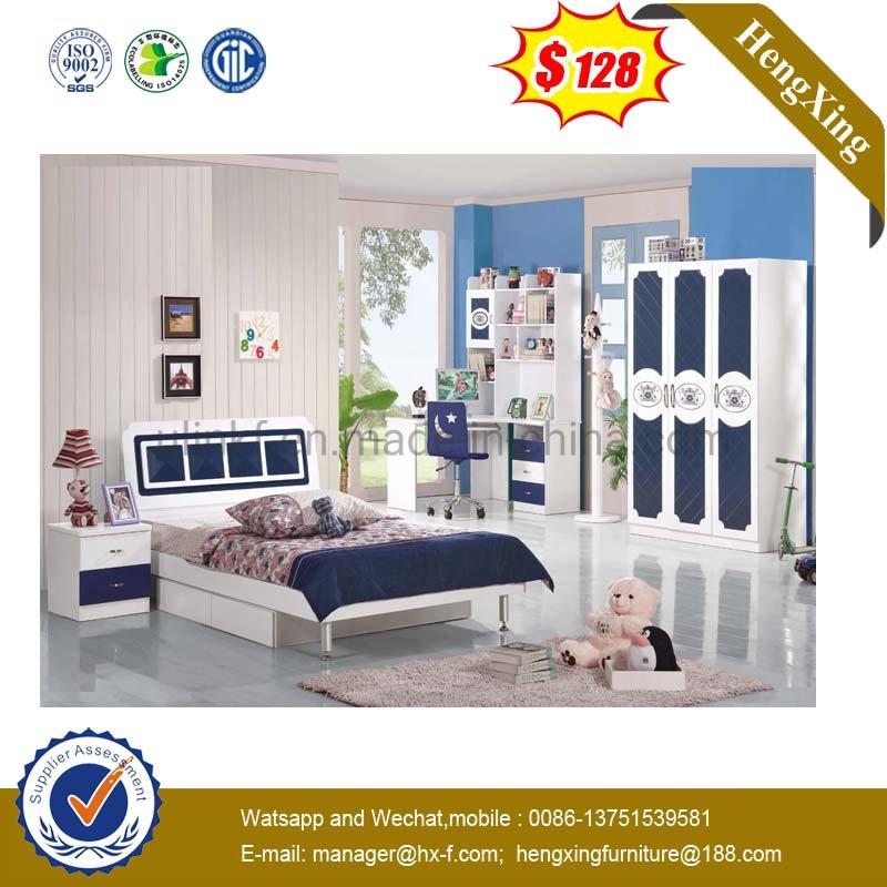 [Hot Item] Luxury Design Double Size Bedroom Furniture Wooden Children Bed  (UL-HE803)