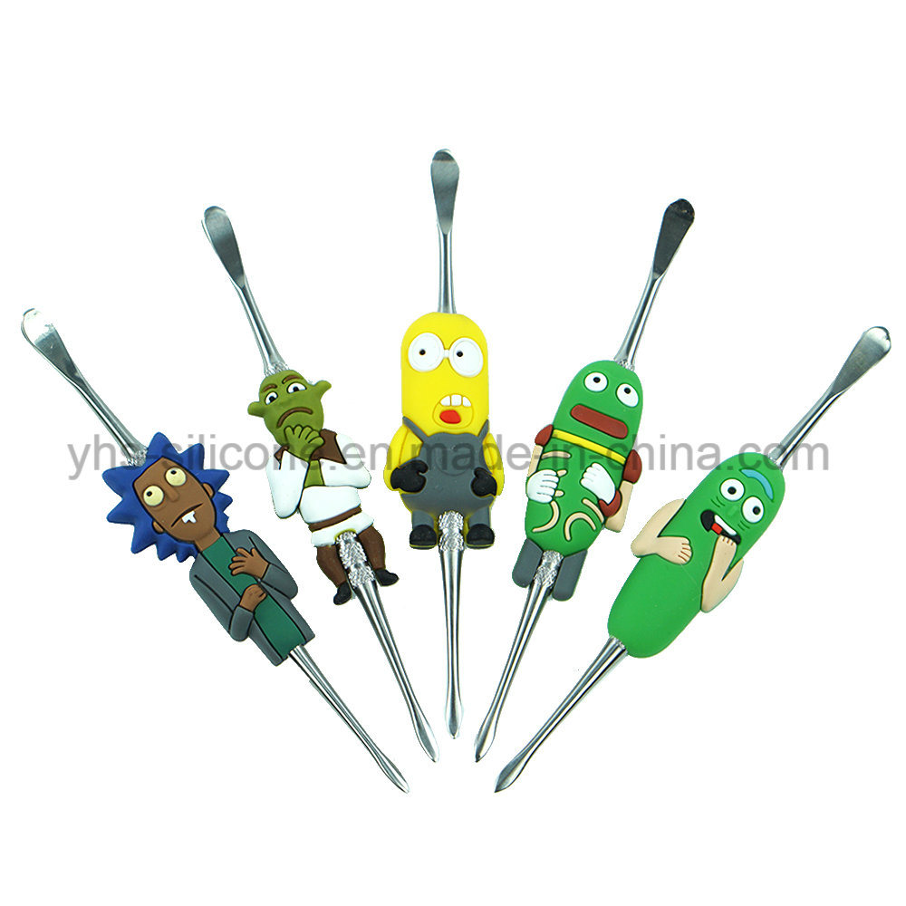 New Cartoon Design Style Stainless Steel DAB Tools Herb Wax Carving Tools Custom DAB Tool pictures & photos