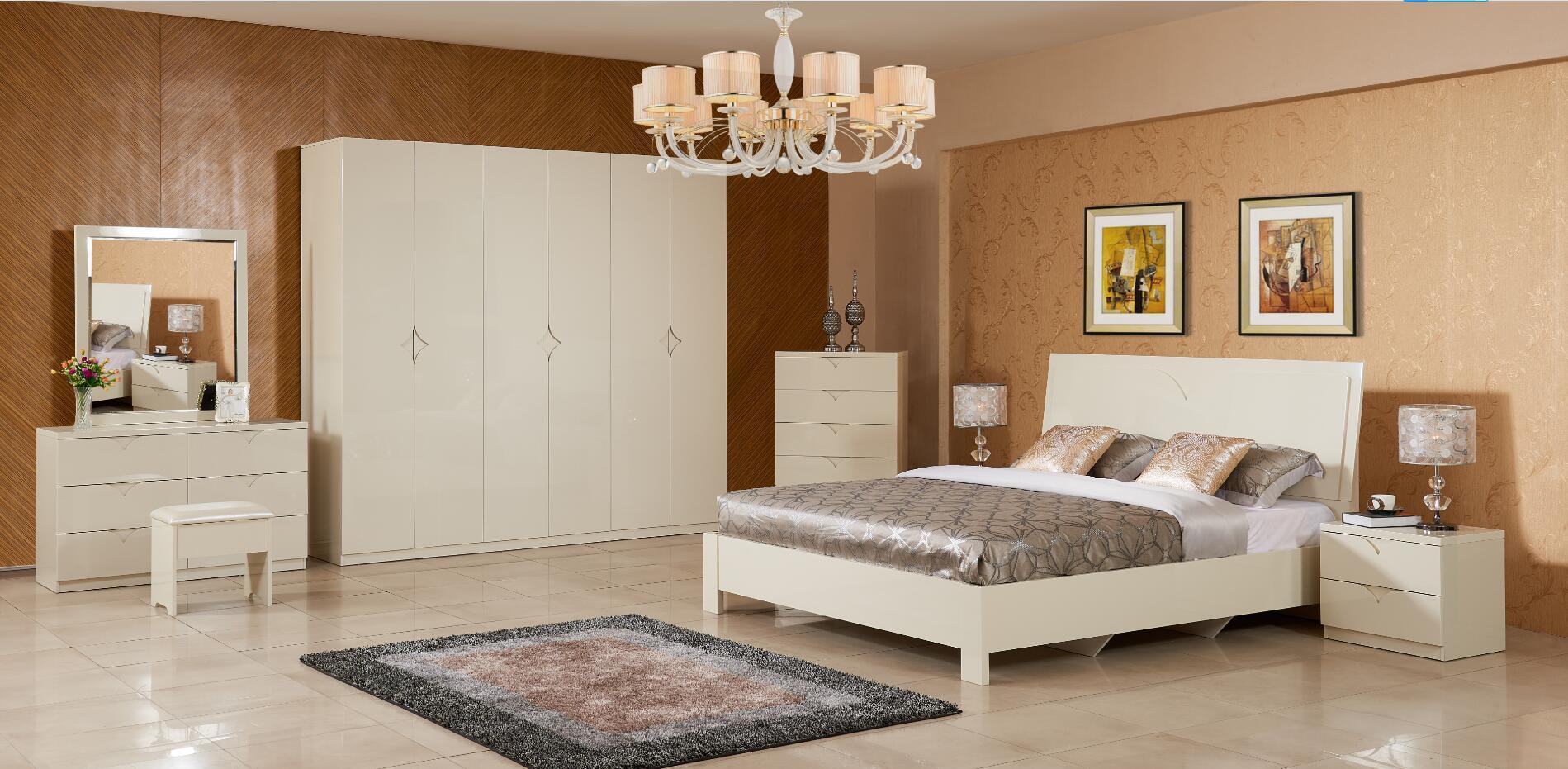 [Hot Item] Modern Simplicity Bedroom Furniture Set for Sale