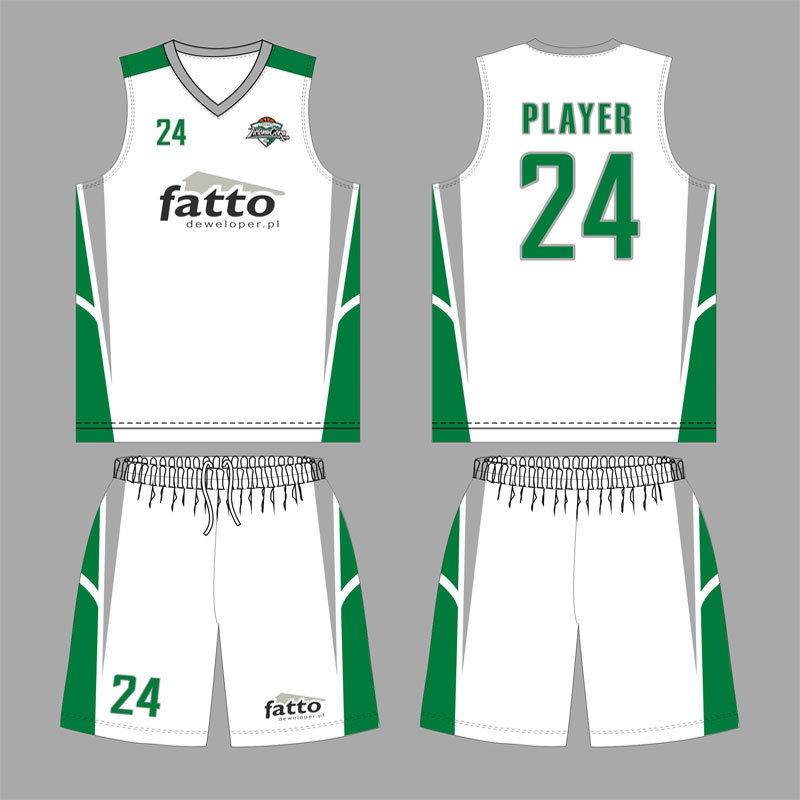 Cool Dry Fabric Basketball Jersey for Fatto Club