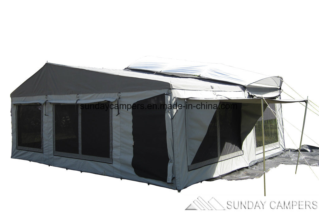 Camper Trailer Tent for Camping