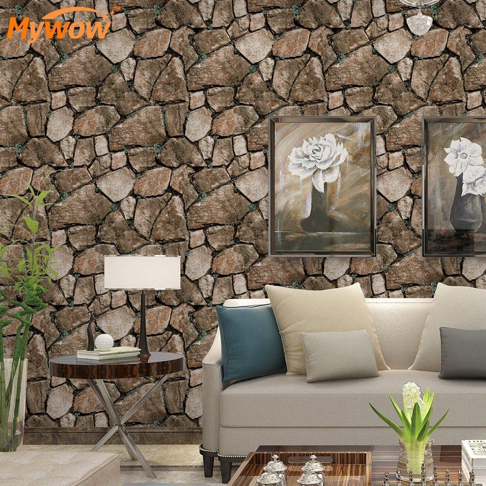 China Living Room 3d Wallpaper Brick Stone Rock Wallpaper China 3d Wallpaper Wallpaper
