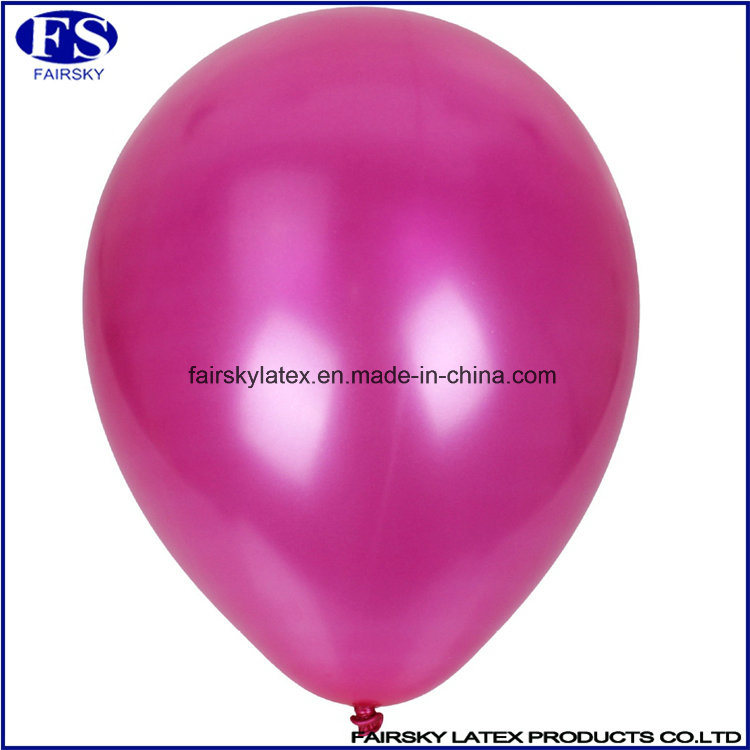 Custom Made Pearl Balloon with Logo