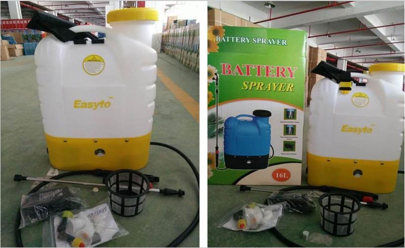 Knapsack Backpack Electric Battery Sprayer (BS-16-1) pictures & photos