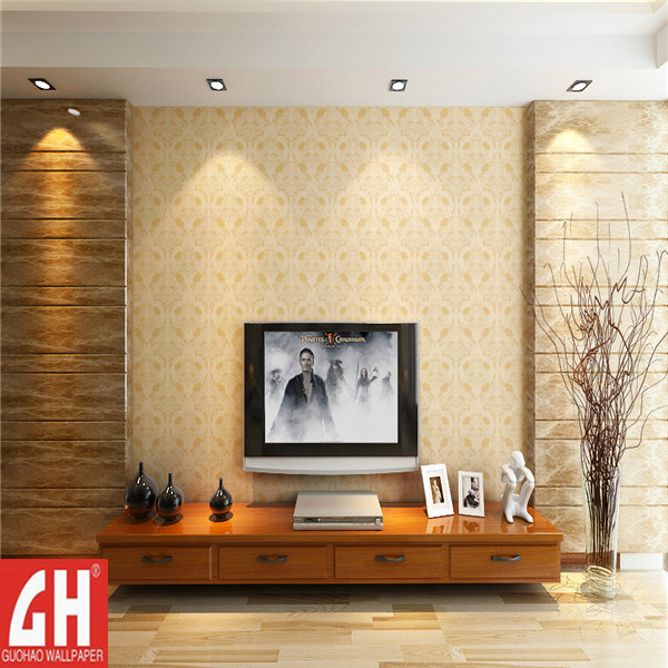 China Pvc Heat Resistant Textured Drawing Room New Wallpaper 2051 China New Wallpaper Textured Wallpaper