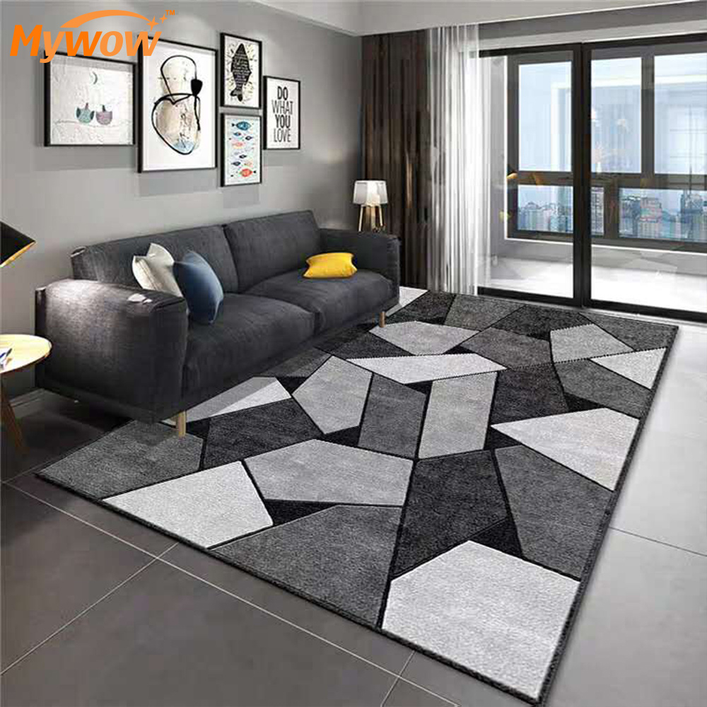 China Wholesale Polyester Carpet Home Rug Living Room Center Rug