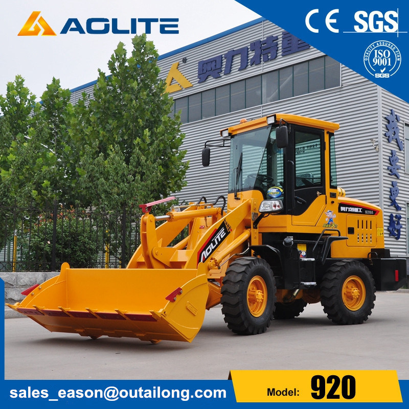 Ce Approval Wheel Loader with Bucket 1t 920 Mini Loader pictures & photos