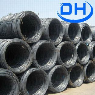 SAE1008 Hot Rolled Deformed Steel Wire Rod From China Tangshan