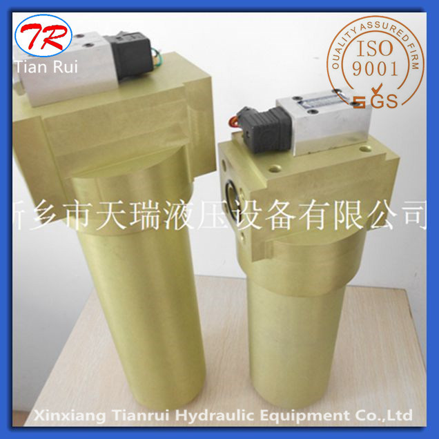 42 MPa High Pressure Aluminum Alloy Hydraulic in Line Oil Filter Housing Yph