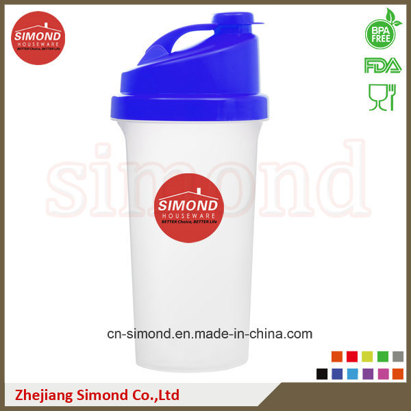 600ml Gym Protein Shaker Bottles, Smart Shakers (SB6001)