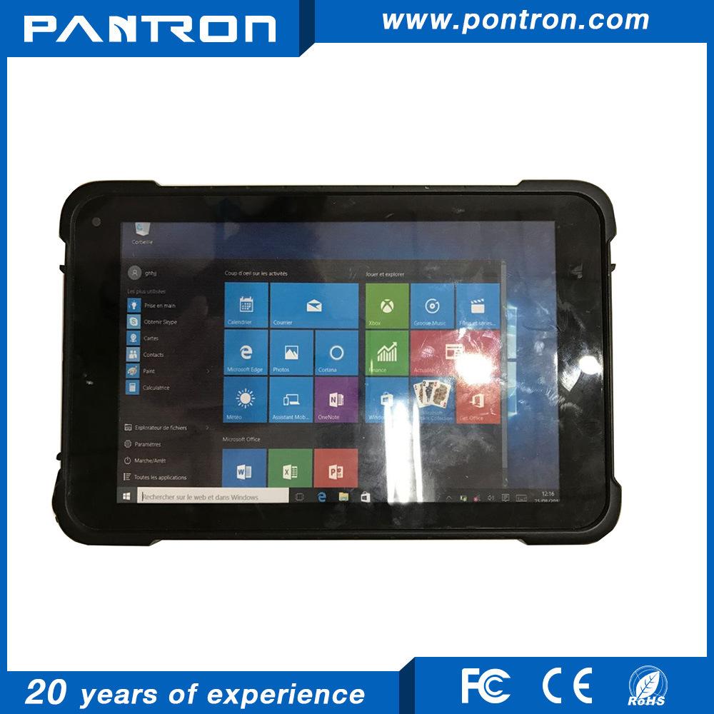 Hot Item 8 Inch Intel Cherrytrail Z8300 Windows 10 Rugged Tablet Pc