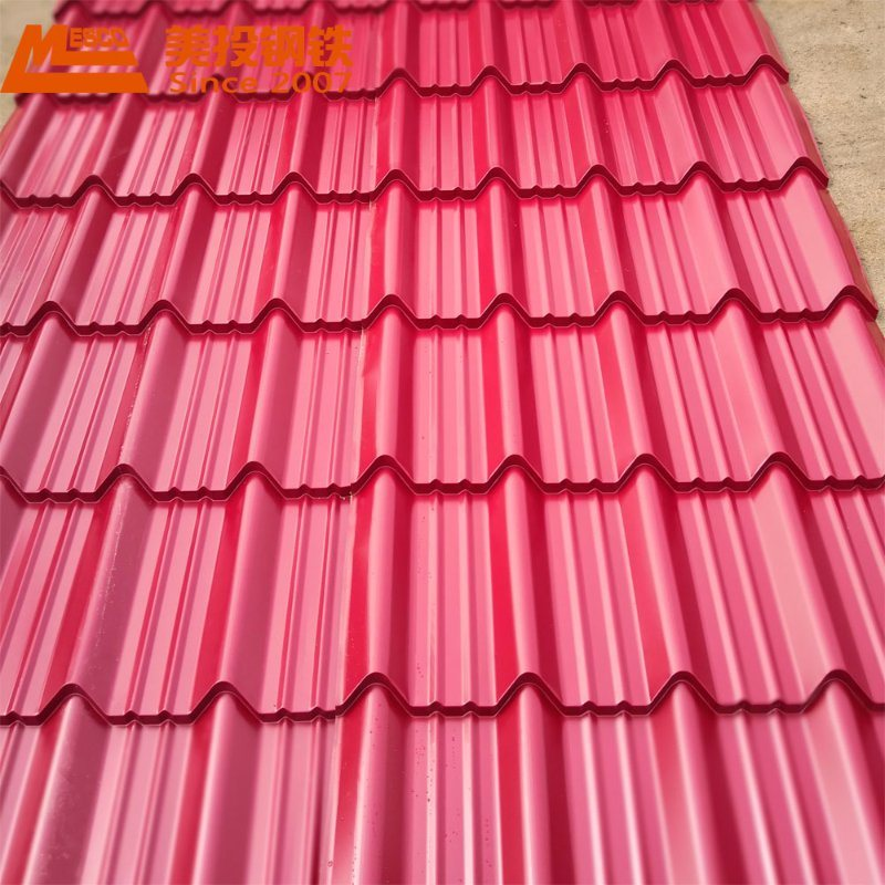 Mesco Gl Prepainted Steel Coil for Household Appliances Corrugated PPGI Sheet Roofing Tile pictures & photos