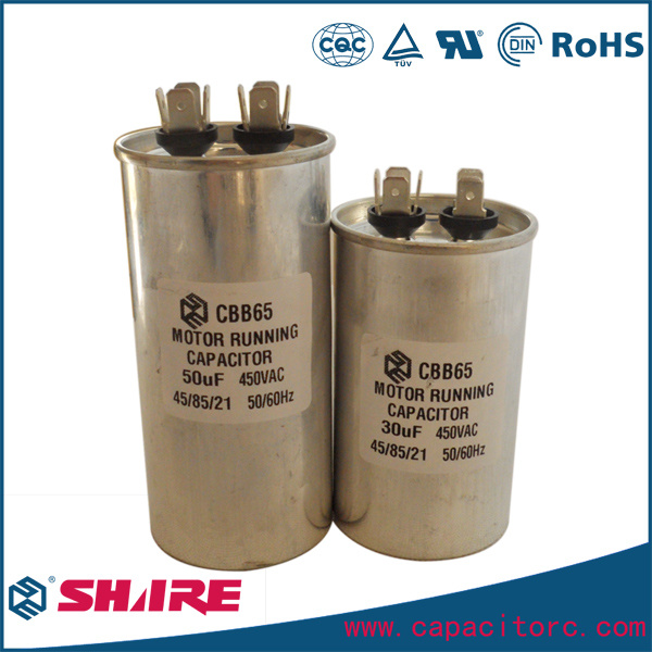 Cbb65 Air Conditioner Capacitors