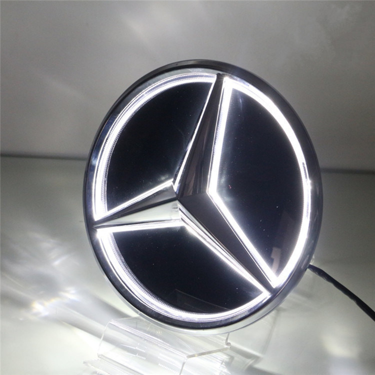 China Illuminated Car For Benz Logo LED Badge For Mercedes