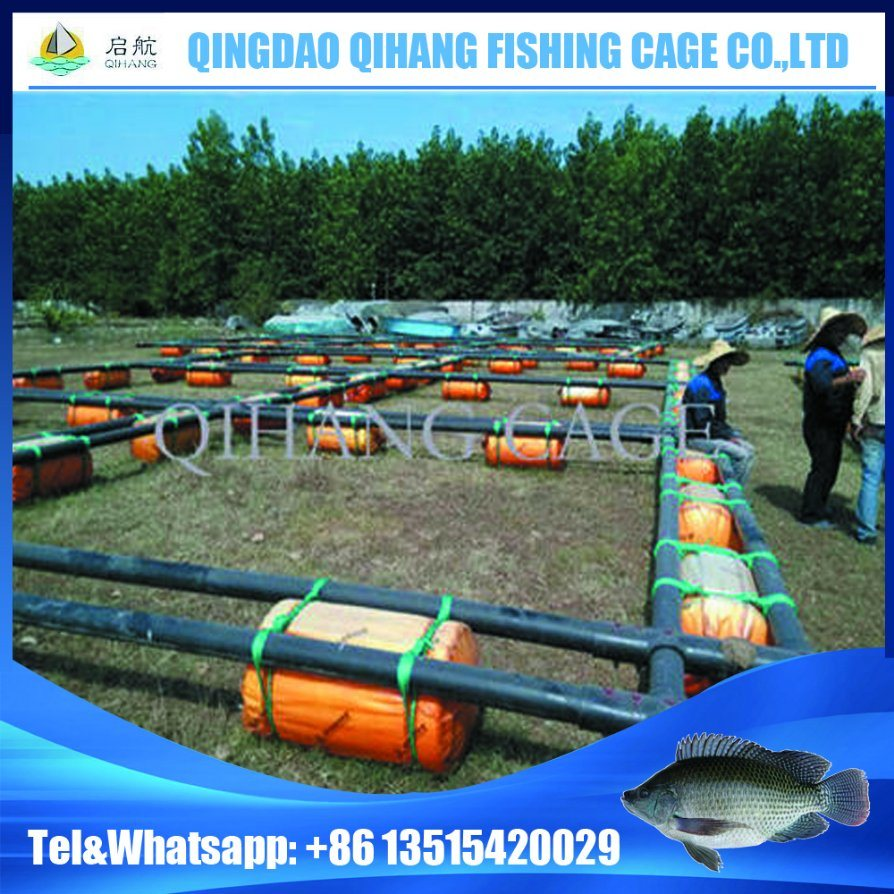 Floating Fishing Net Cage for Sturgeon Growth