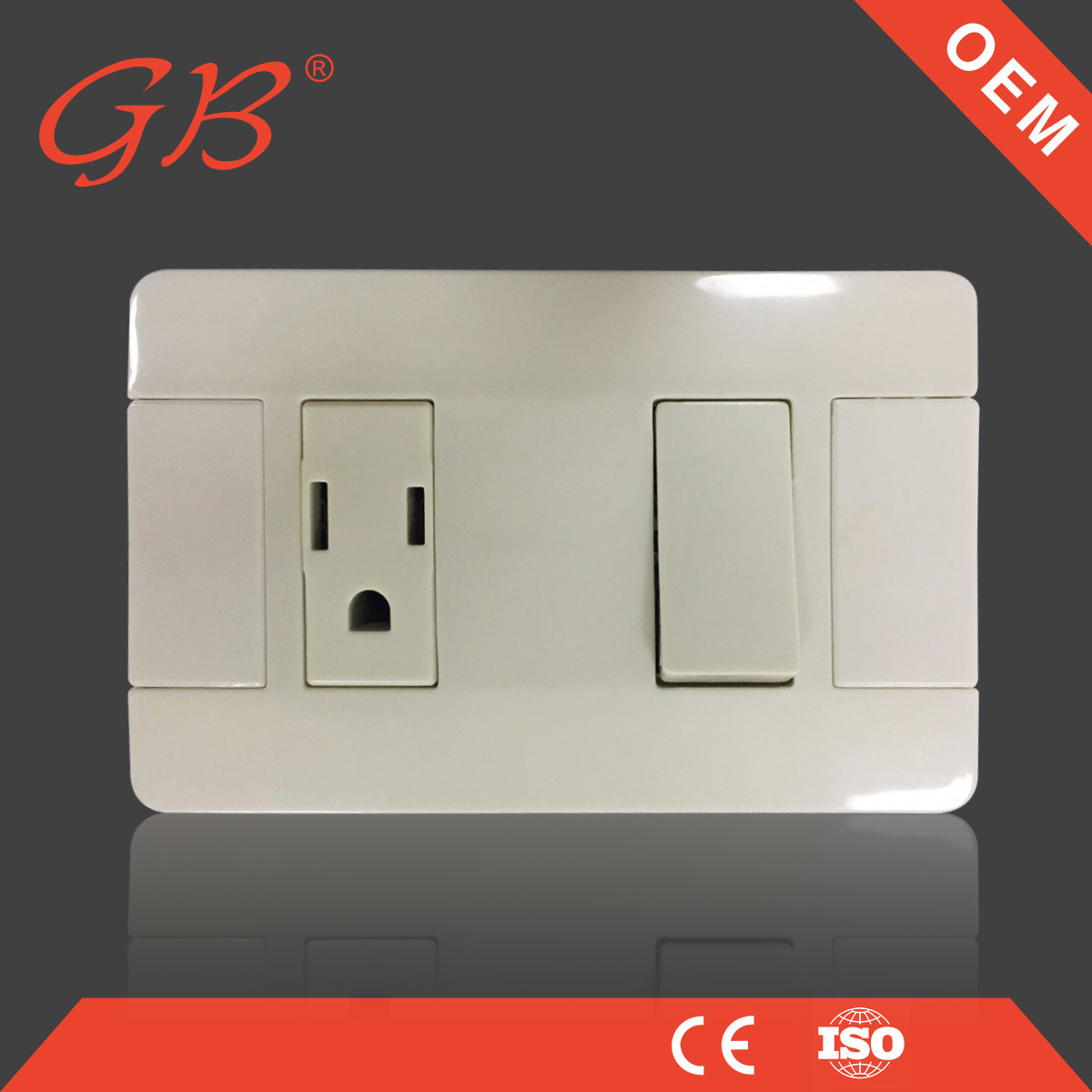 China Electrical Switch Electrical Socket Wall Switch South American ...