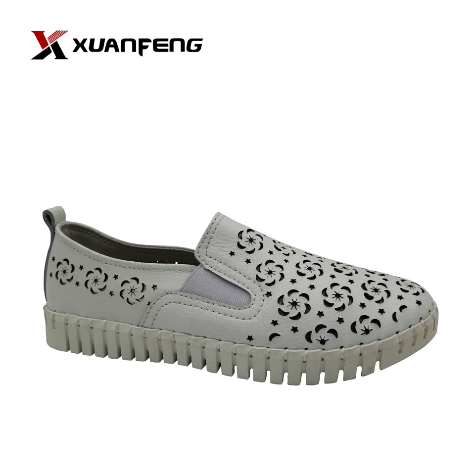 Summer Shoes Womens 2020.Hot Item 2020 Wholesale Hot Sale Summer Anti Slip Lady S Leisure Leather Footwear