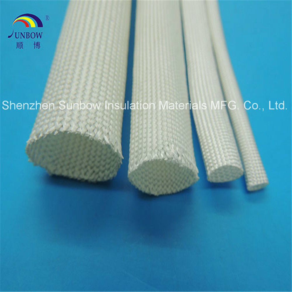 China Heat Resistant Non-Alkali Braided Fiberglass Thermal ...