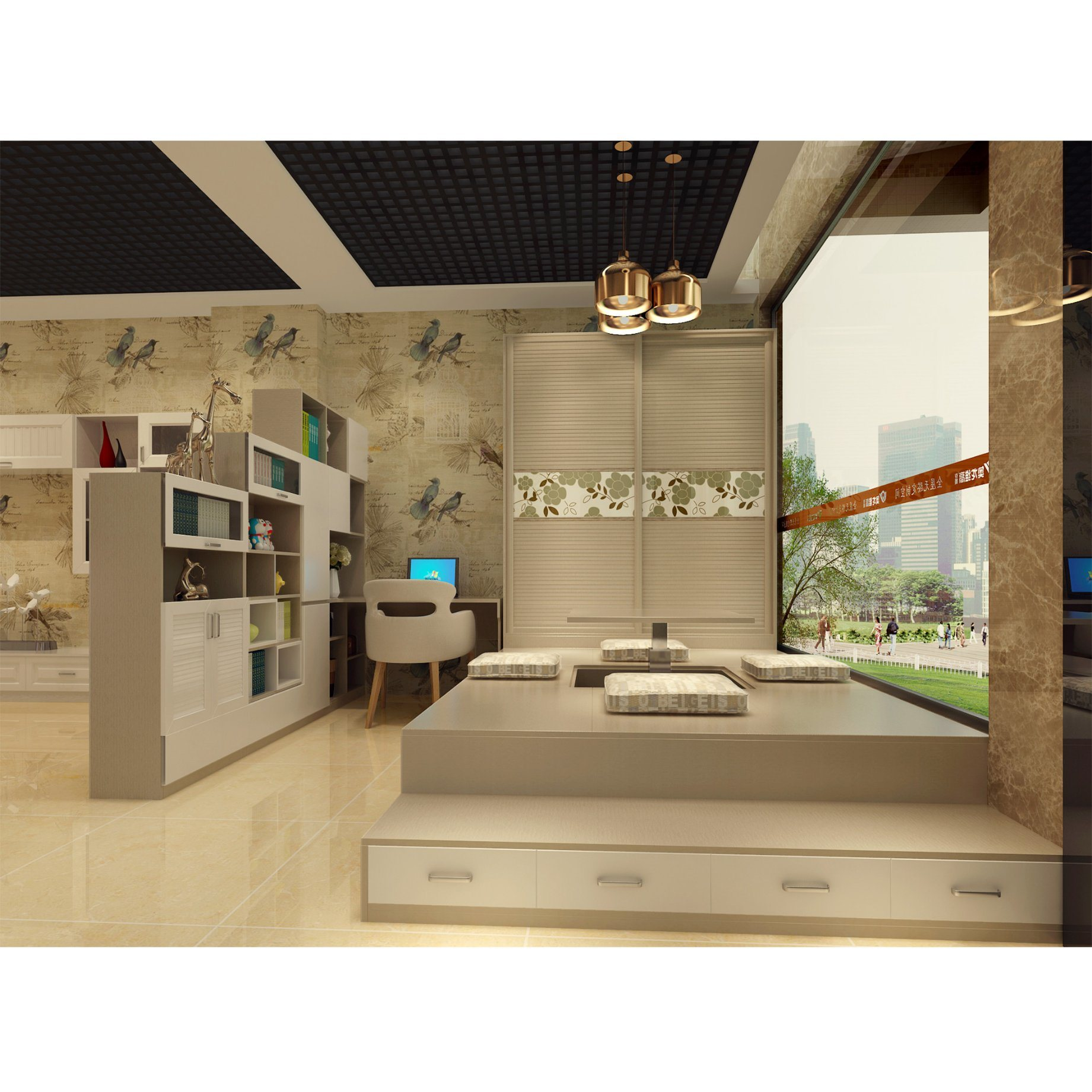 China Home Design Fashion Social Multifunction Bedroom Furniture Closet Wardrobe