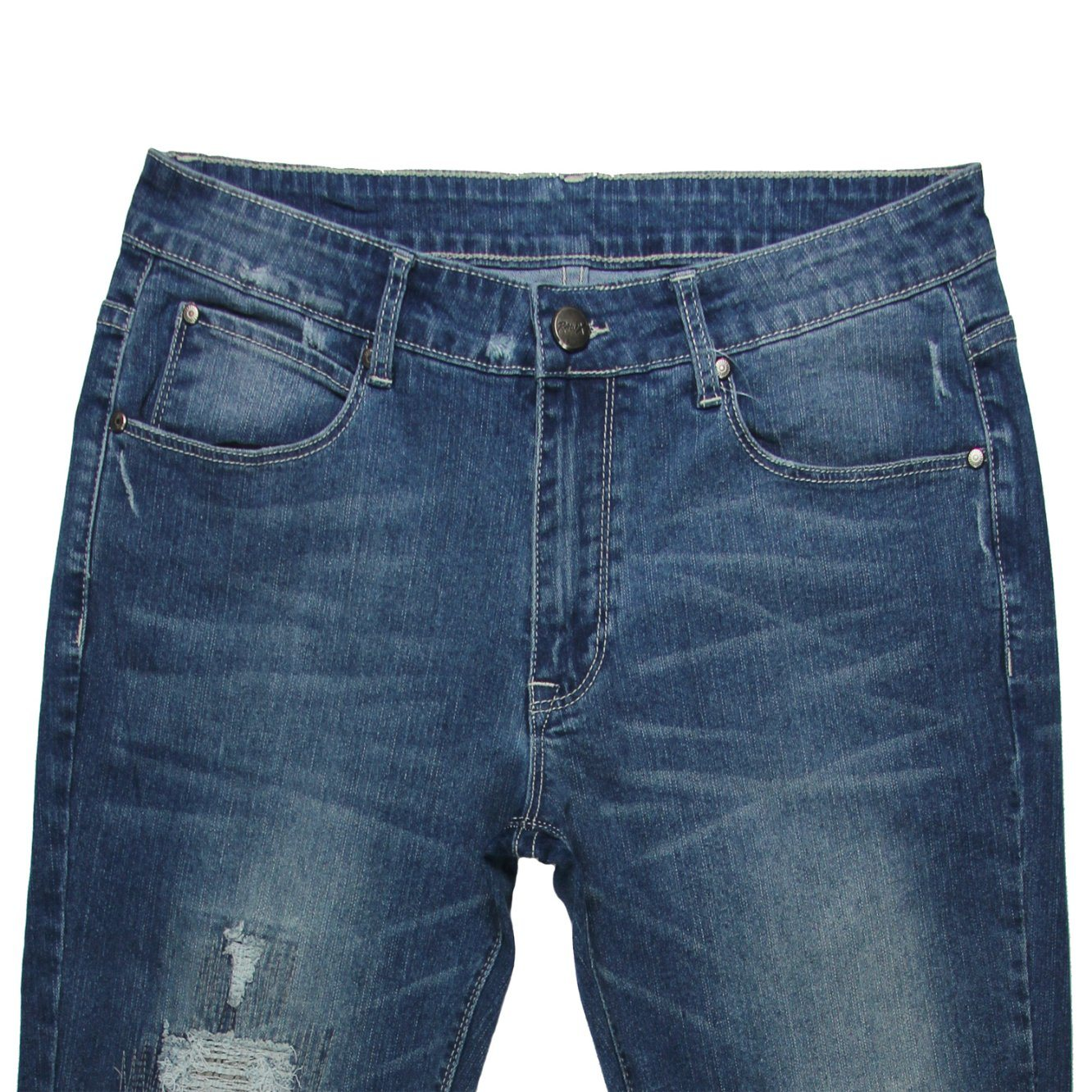 Good Quality Garment Factory of Men′s Denim (MYX14) pictures & photos
