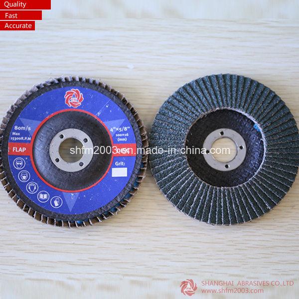China 4 5 P40 T27 Nail Polish Color Wheel Flap Disc For Metal