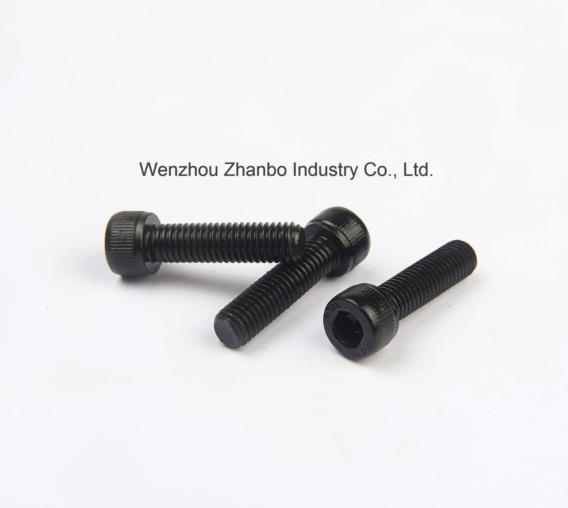 High Strength Steel, Hexagon Socket-Head Cap Screws 12.9 10.9 8.8, 4.8 M6-M20, DIN912 pictures & photos