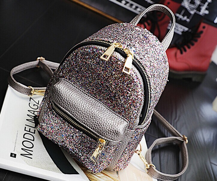 Wholesale 2017 New Backpack, Women′s Mini Sequined Fashion Shoulder Bag (BDMC130) pictures & photos