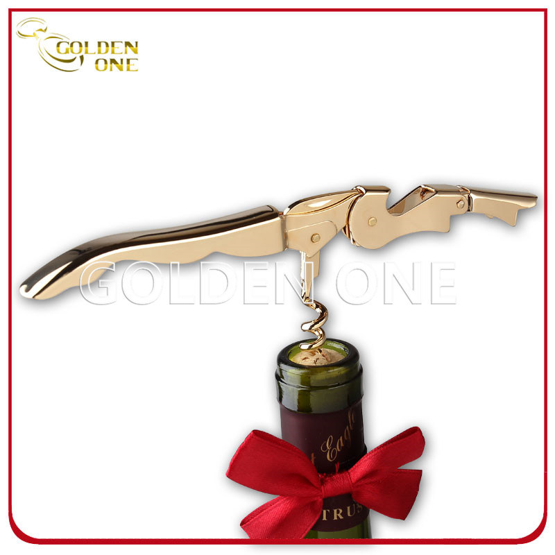 Superior Quality Stainless Steel 24k Gold Plated Wine Corkscrew