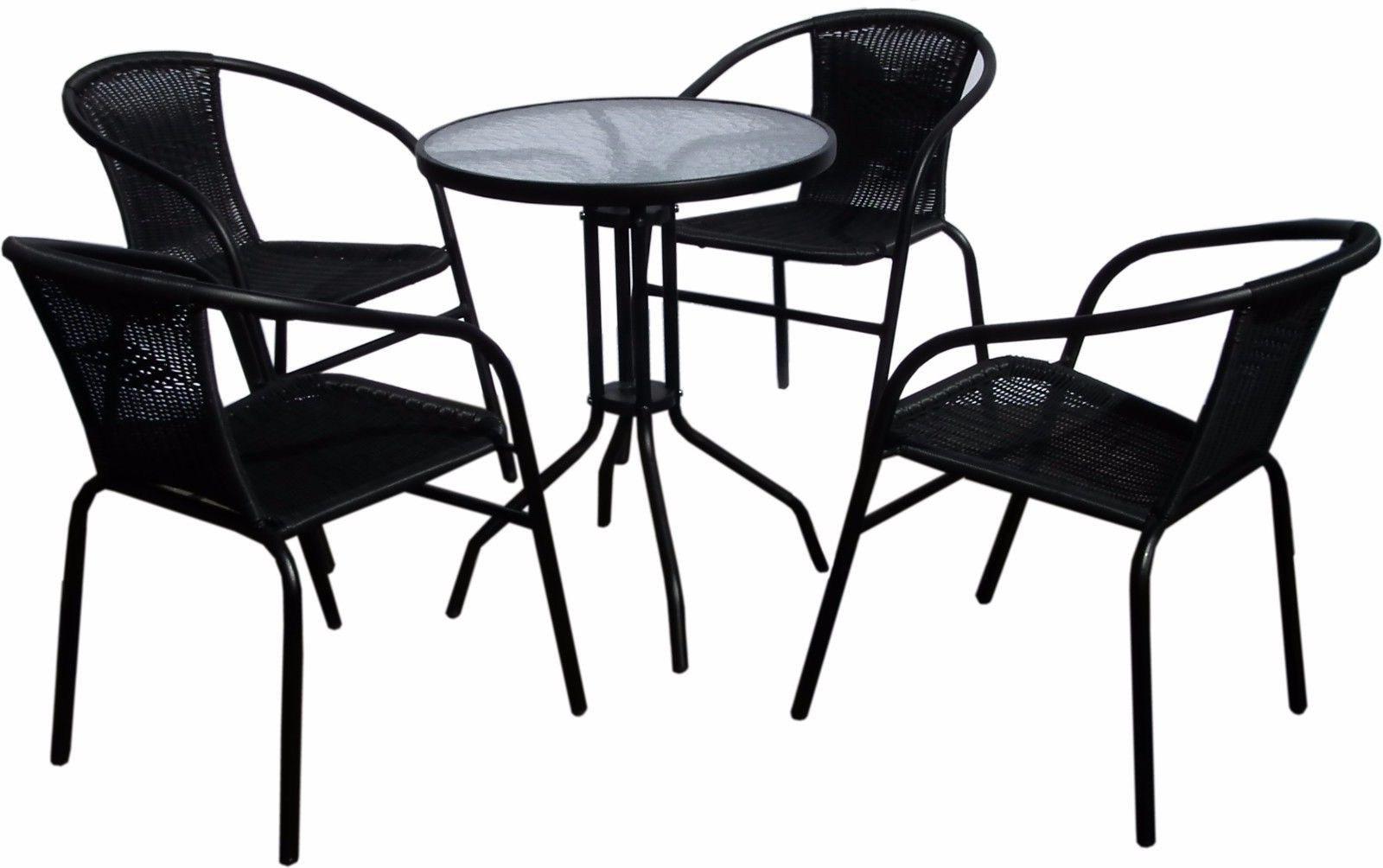 Super Hot Item 5 Piece Black Miniature Garden Patio Furniture Download Free Architecture Designs Scobabritishbridgeorg