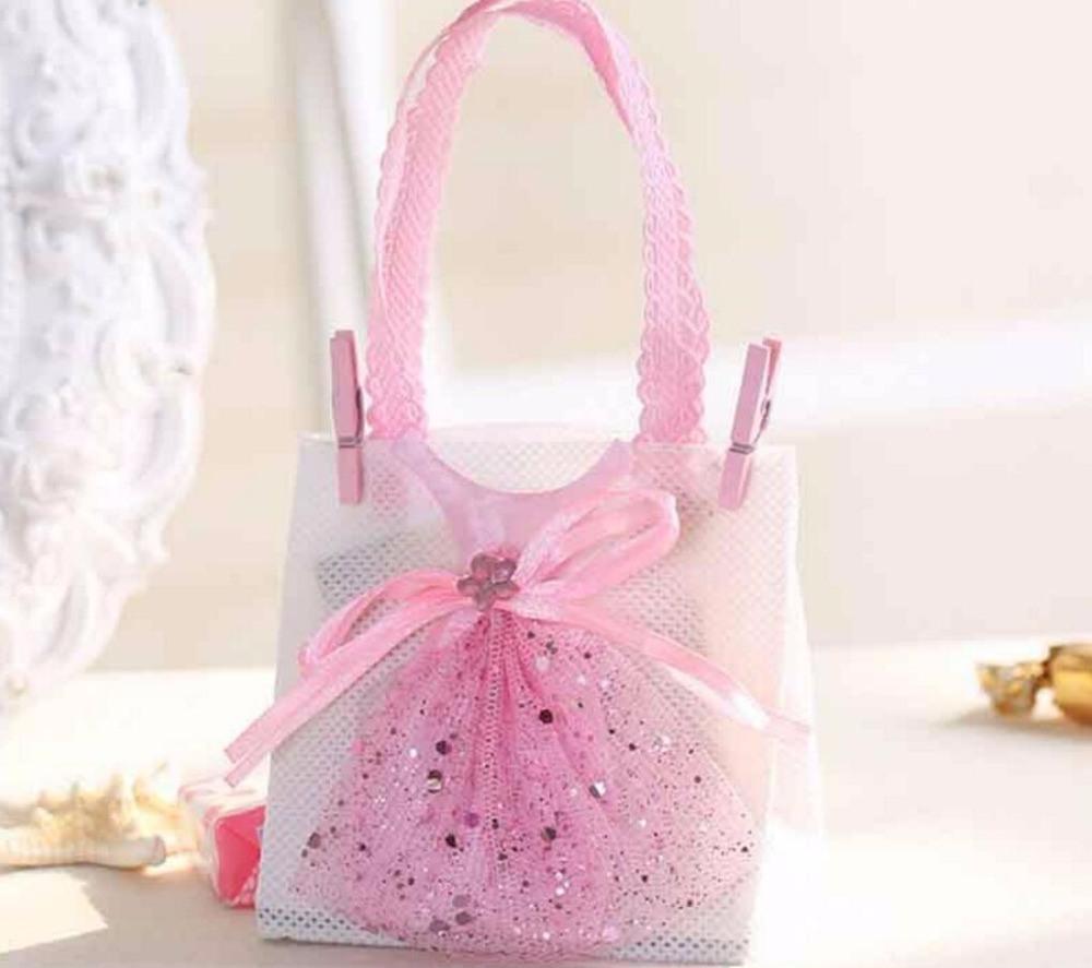 China Non-Woven Fabrics Handbag with Dress Candy Chocolate Box Bag ...