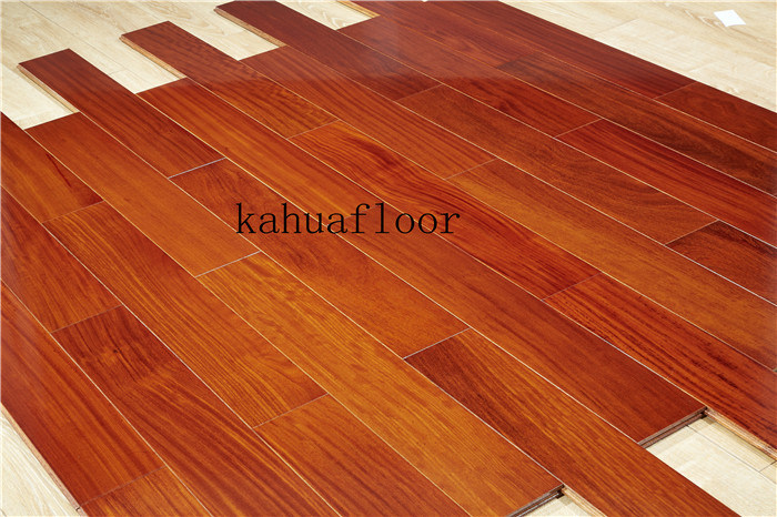 China Factory Direct Ing Natural Moistureproof Solid Wood Flooring Hardwood Bamboo