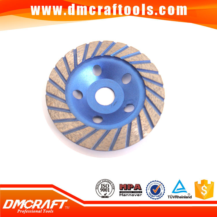 100mm Turbo Diamond Grinding Cup Wheel for Concrete